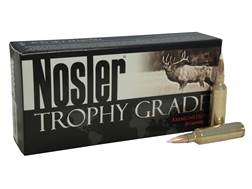 Nosler Trophy Grade Ammunition 325 Winchester Short Magnum (WSM) 200 Grain AccuBond Box of 20