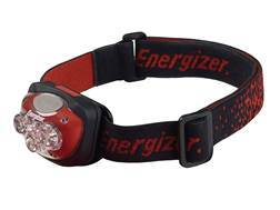 Energizer 4 LED Headlamp LED with 3 AAA Batteries Polymer