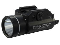 Streamlight TLR-1S Weaponlight LED with 2 CR123A Batteries fits Picatinny and Glock Rails Aluminu...