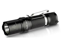 Fenix LD11 Flashlight LED Requires 14500 Rechargeable Li-ion or 1 AA Battery Aluminum Black