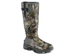 "Irish Setter Rutmaster 2.0 15"" Waterproof 1200 Gram Insulated Hunting Boots Rubber Clad Neoprene Mossy Oak Break-Up Country Camo Men's 12 E"