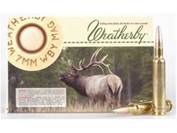 Weatherby Ammunition 7mm Weatherby Magnum 154 Grain Hornady Spire Point Box of 20