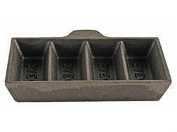 Saeco 4-Cavity Ingot Mold without Handle