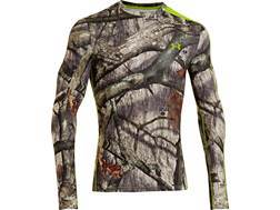 Under Armour Men's ColdGear Infrared Scent Control EVO Crew Base Layer Shirt Polyester