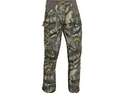 Under Armour Men's Scent Control Field Pants Polyester Mossy Oak Treestand Large