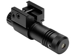 NcStar 5mw Tactical Compact Green Laser Sight with Integral Weaver-Style Mount Black