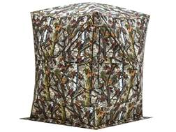 "Barronett Big Mike Ground Blind 75"" x 75"" x 80"" Polyester Bloodtrail Camo- Blemished"