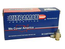 Ultramax Remanufactured Ammunition 45 ACP 200 Grain Lead Semi-Wadcutter Box of 50