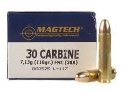 Magtech Sport Ammunition 30 Carbine 110 Grain Full Metal Jacket