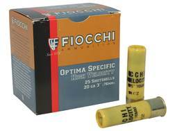 "Fiocchi Shooting Dynamics High Velocity Ammunition 20 Gauge 3"" 1-1/4 oz #5 Shot Box of 25"
