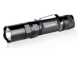 Fenix PD32 Flashlight LED with 2 CR123A Batteries Aluminum Black