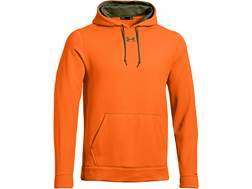 Under Armour Men's Storm Blaze Hooded Sweatshirt Polyester Blaze Orange