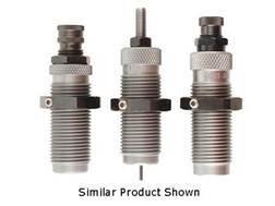 "RCBS Carbide 3-Die Set 500 Linebaugh 1""-14 Thread with 1-1/4""-12 Thread Adapter Bushing"