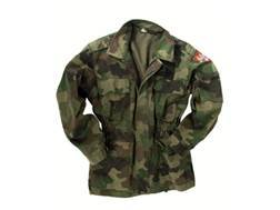 Military Surplus Serbian Camo Field Jacket