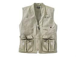 Woolrich Elite Vest Cotton Canvas Khaki 2XL