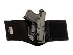 Galco Ankle Glove Holster Right Hand Kahr K40, K9, P40, P9 Leather with Neoprene Leg Band Black
