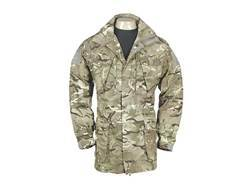 Military Surplus British Combat Smock Multi-Terrain Pattern Camo