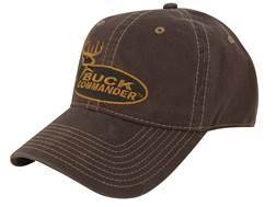 Buck Commander Logo Cap Cotton Brown