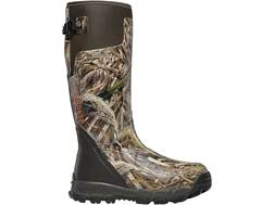 "LaCrosse Alphaburly Pro 18"" Waterproof 800 Gram Insulated Hunting Boots Rubber Clad Neoprene Realtree Max-4 Men's"
