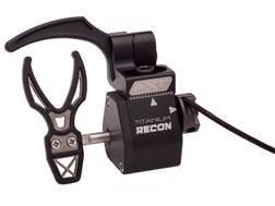 Archer Xtreme Titanium Recon Drop-Away Arrow Rest Right Hand Black
