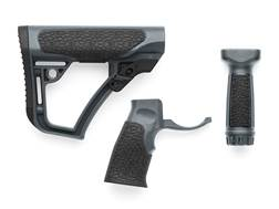 Daniel Defense Collapsible Stock, Pistol Grip, Vertical Foregrip Combo Kit Mil-Spec Diameter AR-1...
