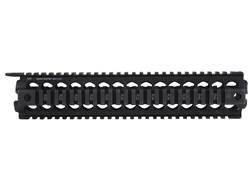 Midwest Industries 2-Piece Gen 2 Handguard Quad Rail AR-15 Rifle Length Aluminum Black