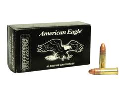 Federal American Eagle Suppressor Ammunition 22 Long Rifle 45 Grain Copper Plated Lead Round Nose Box of 500 (10 Boxes of 50)