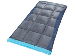 Coleman Heaton Peak 30 Degree Tall Sleeping Bag Polyester Blue