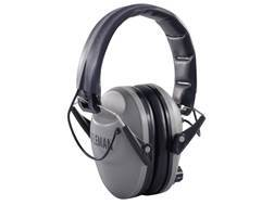 BenchMaster Rifleman EXS Electronic Earmuffs (NRR 21dB) Grey