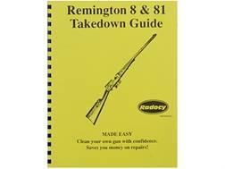 """Radocy Takedown Guide """"Remington 8 & 81"""""""