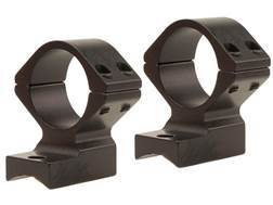 Talley Lightweight 2-Piece Scope Mounts with Integral Rings Savage 10 Through 16, 110 Through 116 Round Rear, Axis Matte