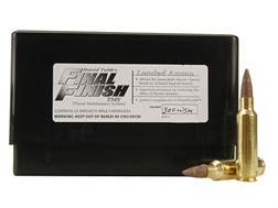 Tubb Final Finish Throat Maintenance System TMS Ammunition 300 Winchester Short Magnum (WSM) Box of 20
