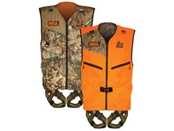 Hunter Safety System Patriot Reversible Treestand Safety Harness Realtree Xtra Camo/Blaze Orange 2XL/3XL 48-60 Chest