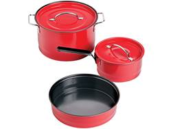 Coleman 6-Piece Cookware Set Red