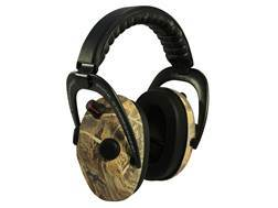 Walker's Duck Commander Alpha Power Muffs 360 QUAD Electronic Earmuffs (NRR 24dB) Real Tree Max-4