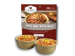 Wise Food Outdoor Chili Mac with Beef Freeze Dried Food Pack of 6