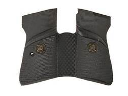 Pachmayr Signature Grips with Backstrap Walther PP, PPK/S (Except S&W Models) Rubber Black