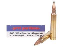 Prvi Partizan Ammunition 300 Winchester Magnum 165 Grain Pointed Soft Point Boat Tail Box of 20