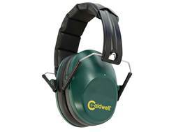 Caldwell Low Profile Range Muff Earmuffs (NRR 25dB) Green