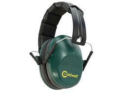 Caldwell Low Profile Range Muff Earmuffs (NRR 25dB) Green