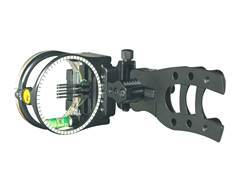 Trophy Ridge Micro Hit Man 5-Pin Bow Sight with Light Black
