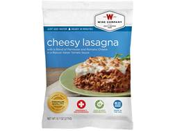 Wise Food Long Term 25 Year 4 Serving Cheesy Lasagna Freeze Dried Food