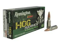 Remington Hog Hammer Ammunition 30 Remington AR 125 Grain Barnes Triple-Shock X Bullet Hollow Point Lead-Free Box of 20