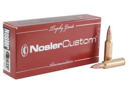 Nosler Trophy Grade Ammunition 325 Winchester Short Magnum (WSM) 180 Grain E-Tip Lead-Free Box of 20