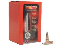 Hornady InterLock Bullets 30 Caliber (308 Diameter) 165 Grain Spire Point Boat Tail Box of 100