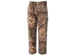 Scent-Lok Vortex Scent Control Windproof Fleece Pants Polyester Realtree Xtra