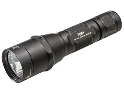 Surefire P2X Fury Dual Stage Flashlight LED with 2 CR123A Batteries Aluminum Black