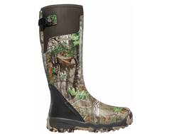"LaCrosse Alphaburly Pro 18"" Waterproof Uninsulated Hunting Boots Rubber Clad Neoprene Realtree Xtra Green Men's 10 D"