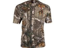 Core4Element Men's C4E Tech Lightweight T-Shirt Short Sleeve Cotton/Poly Blend