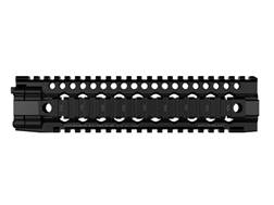 Daniel Defense Lite Rail III 9.0 Free Float Handguard Quad Rail AR-15 Mid Length Aluminum Black